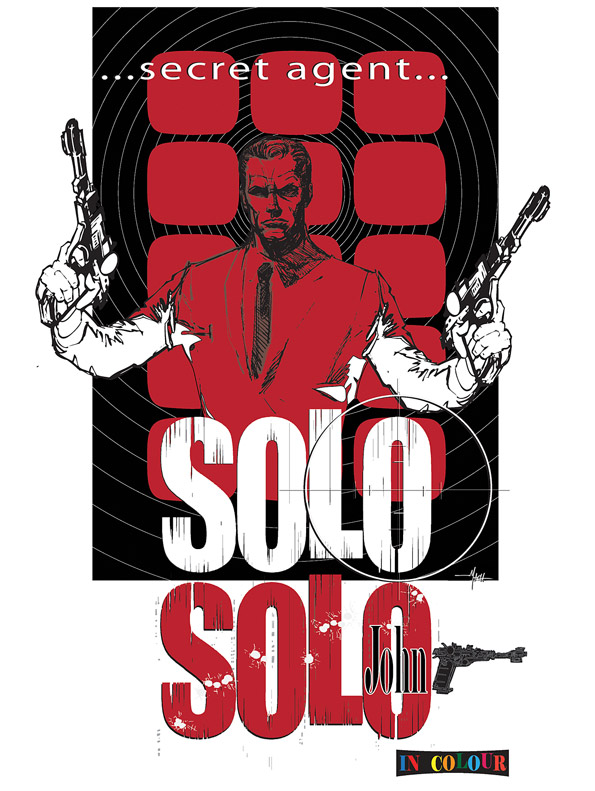 Meet John Solo: Secret Agent.