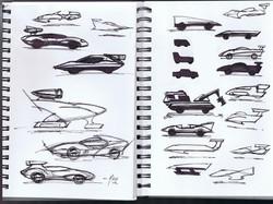 Sketchbook Doodles.