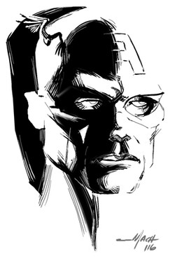 Ink Study of Cap