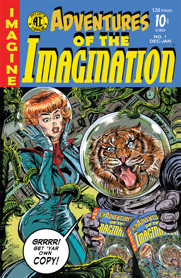 Cover Art from Issue #1.