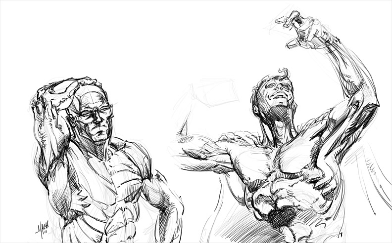 More Anatomy Drills.