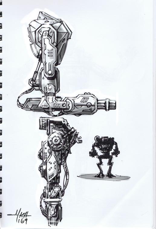 Mech Doodles.