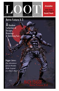 """Loot Magazine"" #1 Cover Art."