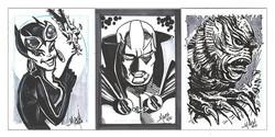 Comic Con Commision sketches.