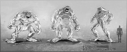 Snow Beast Concept Art.