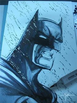Comic Con Commision Sketch.