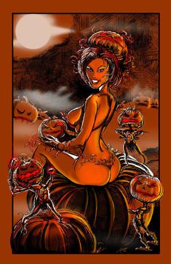 It's Pumpkin Girl!