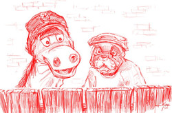 Charley and Humphrey!
