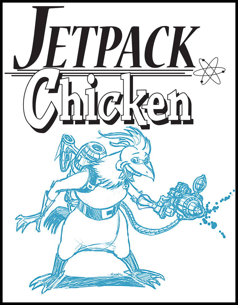 Jet Pack Chicken!!!