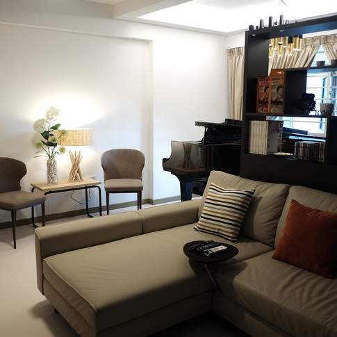 Living Room - After