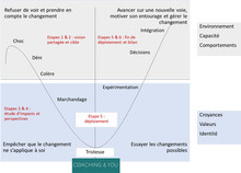 La place du coaching dans l'accompagnement au changement lors de projets de transformation