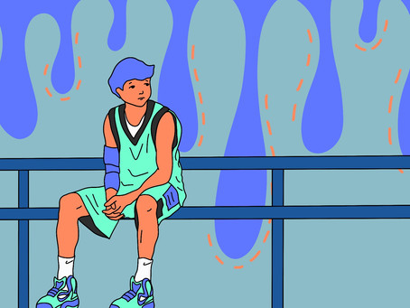 The Internal Suffer of Injured Athletes
