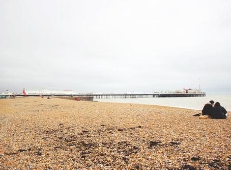 UK | A DAY TRIP FROM LONDON TO BRIGHTON - พานั่งรถไฟจากลอนดอนไปเที่ยวทะเลที่ไบรตัน