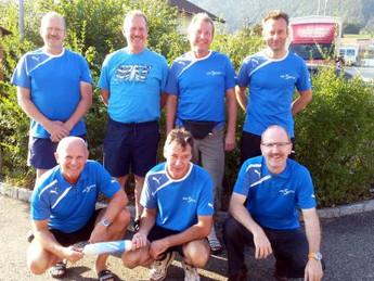 2. Rang am Kantonalen Männerriegenspieltag in Laupersdorf vom 07.09.2014