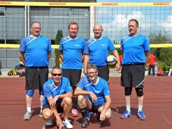 Männerriege im 1. Rang am Kantonalen Männerspieltag 2013