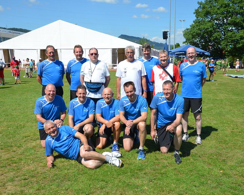 Siegerteam in der 3. Stärkeklasse Soloth. Kantonalturnfest 2018