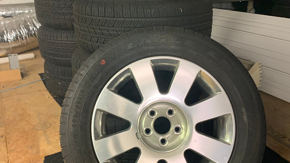New MKT Wheel/Tire/TPMS Package 255/55/R18