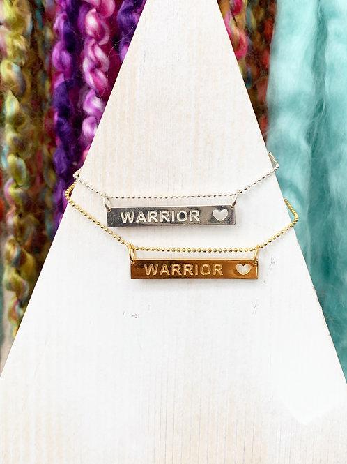 """""""Warrior"""" Bar"""