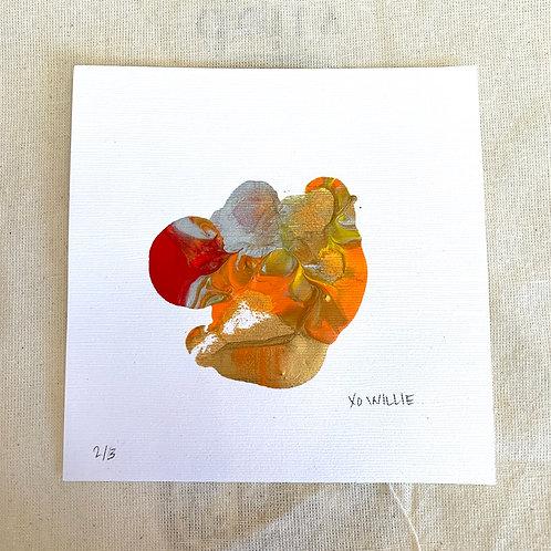 Willie's Art - Orange Matte Series 2/3