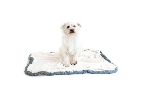 Fuzzy Dog Blanket DENIM