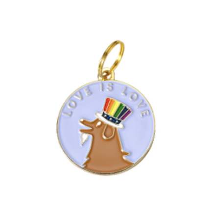 Doggo Pride Tag Charm