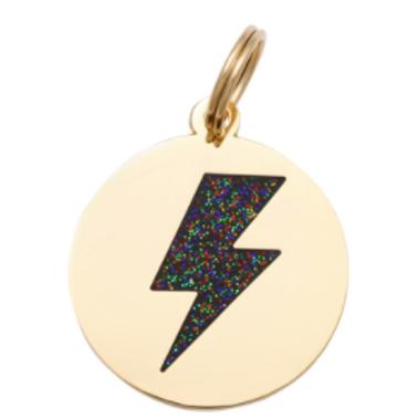 Lightning Tag Charm