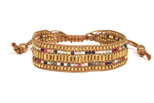 Darjeeling Beaded Bracelet