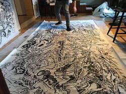 Paint in studio