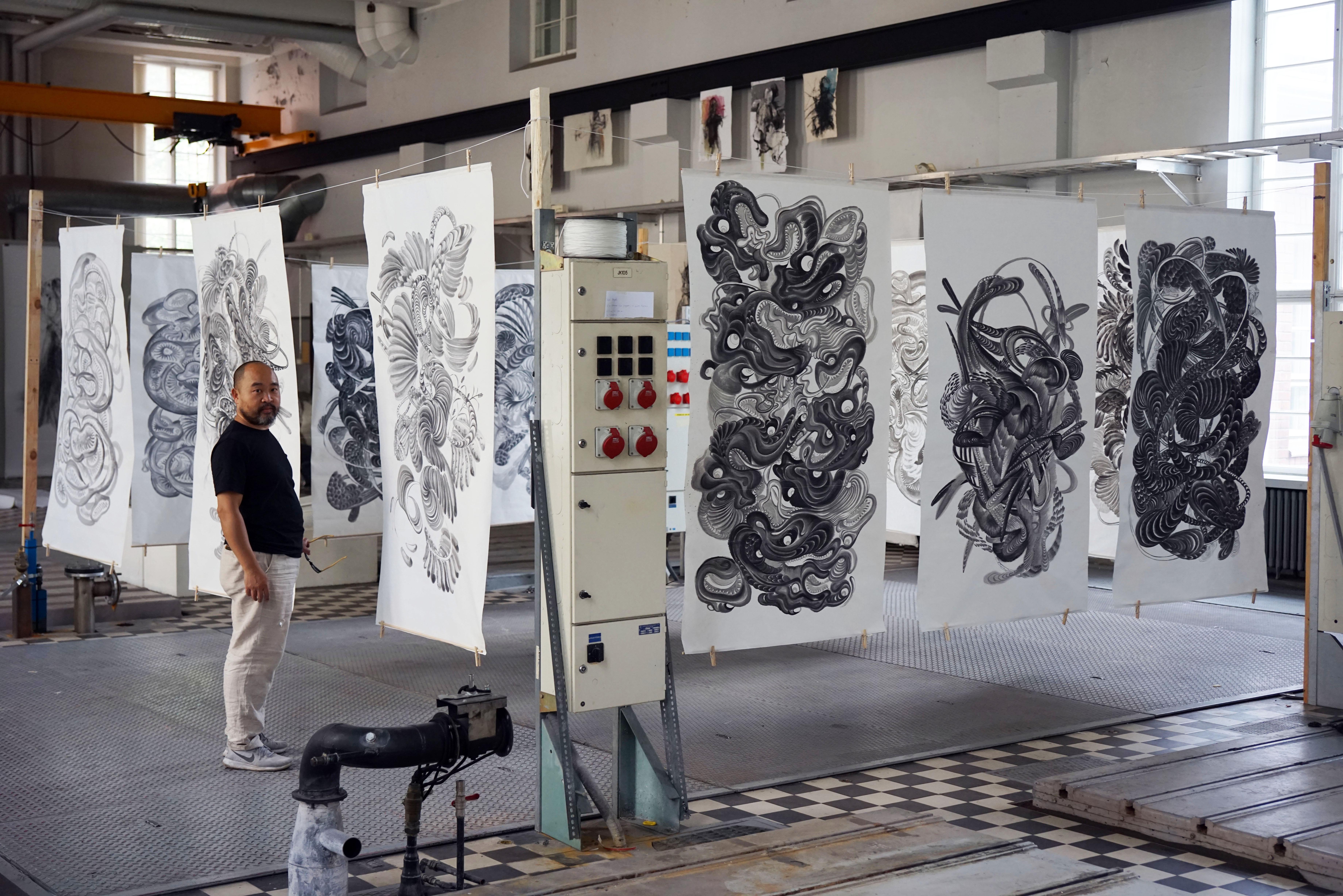 Pan Jian Feng and his work