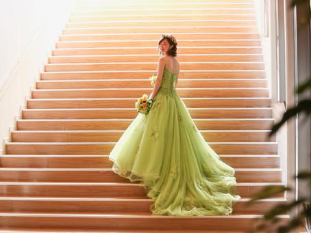 一目惚れしたドレス。