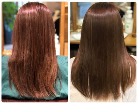 美髪矯正シルクレッチ®︎はこんな施術です(^^)