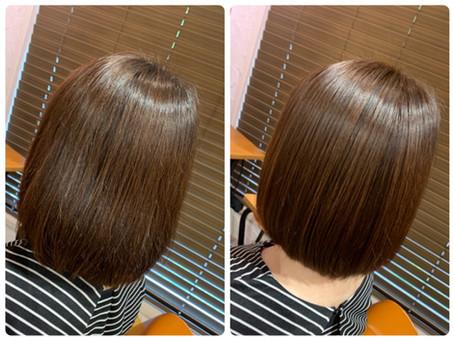 【美髪カラー】美髪矯正シルクレッチ®︎をされている方にオススメです⭐︎