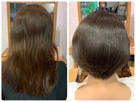 【美髪矯正シルクレッチ®︎】クセ毛の方の施術例
