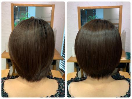 【美髪矯正シルクレッチ®︎】カットやカラーとの同時施術も可能です(^^)
