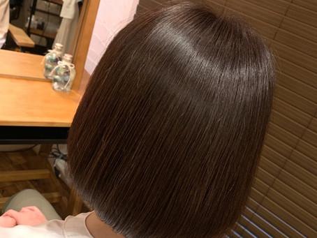 美髪カラー継続後の変化