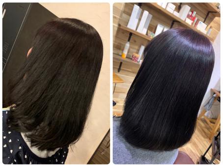 【美髪カラー】に切り替える方が増えています(^ ^)