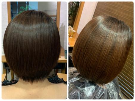 【美髪矯正シルクレッチ®︎】二回目施術から二ヶ月後の現在