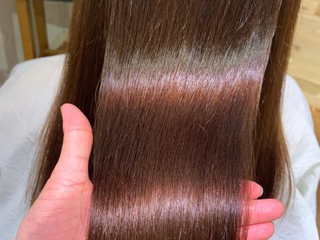 【美髪矯正シルクレッチ®︎】「シャンプー後に髪がキシキシする」