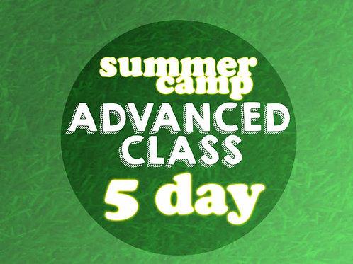 Advanced 5 Day Camp