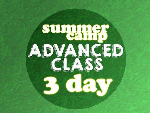 Advanced 3 Day Camp