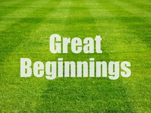 Great Beginnings - Fridays @ 11am