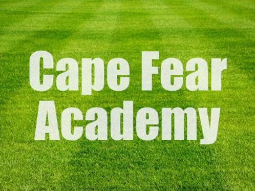 Cape Fear Academy - Wednesdays @ 2:30pm