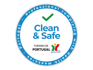 Covid-19 - Your Tour Guide has been awarded with the Stamp: Clean & Safe | O seu Guia-Intérprete