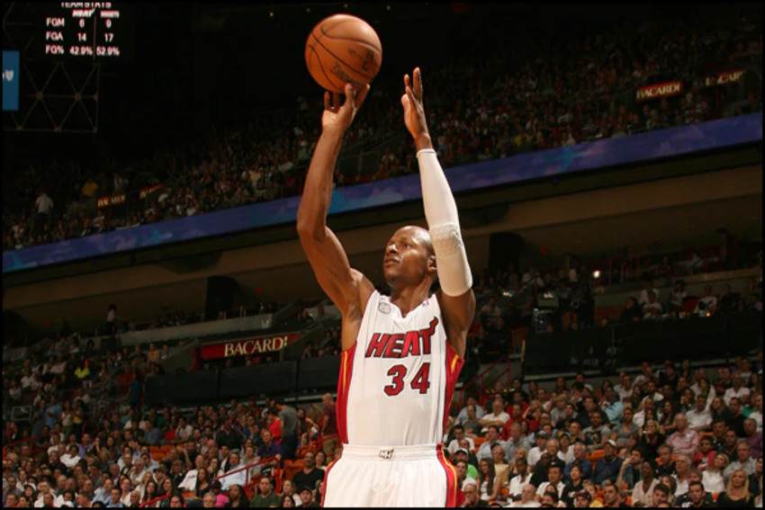ray allen around the game NBA