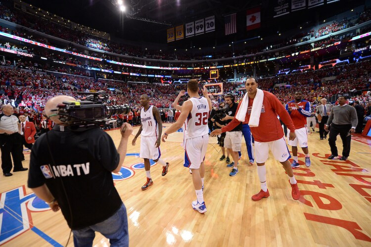 clippers around the game NBA