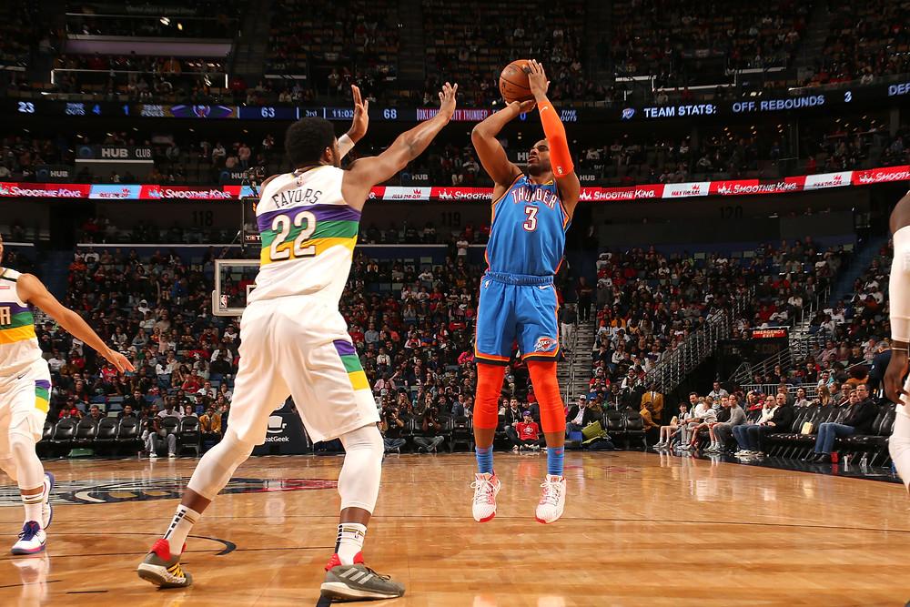 Chris Paul OKC Thunder NBA Around the Game