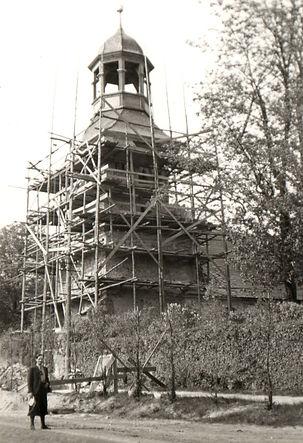 Renovierungsarbeiten Kirche