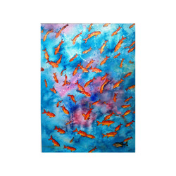 Swirl of Tropical Fish