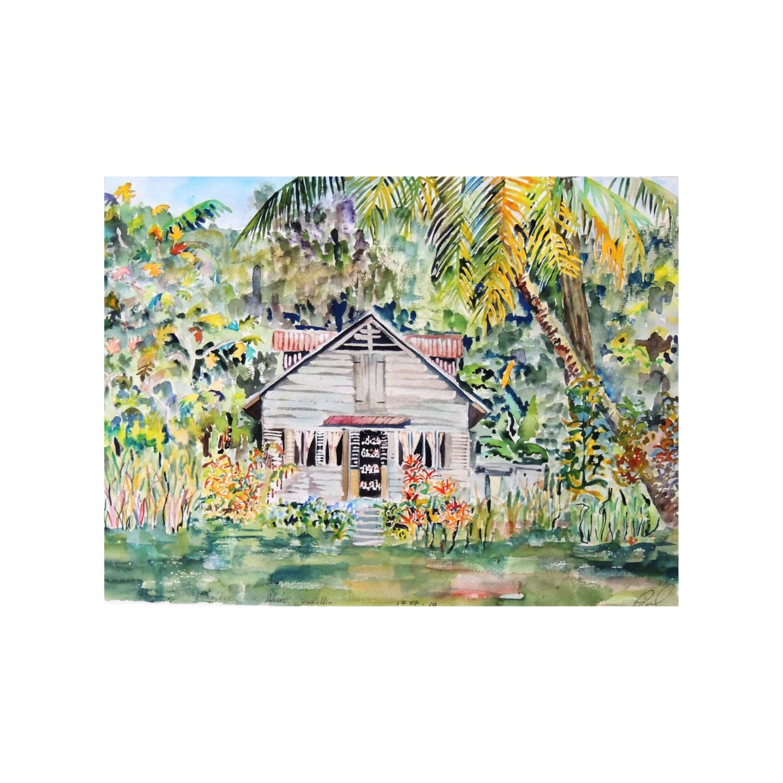 Creole Home in the Forest