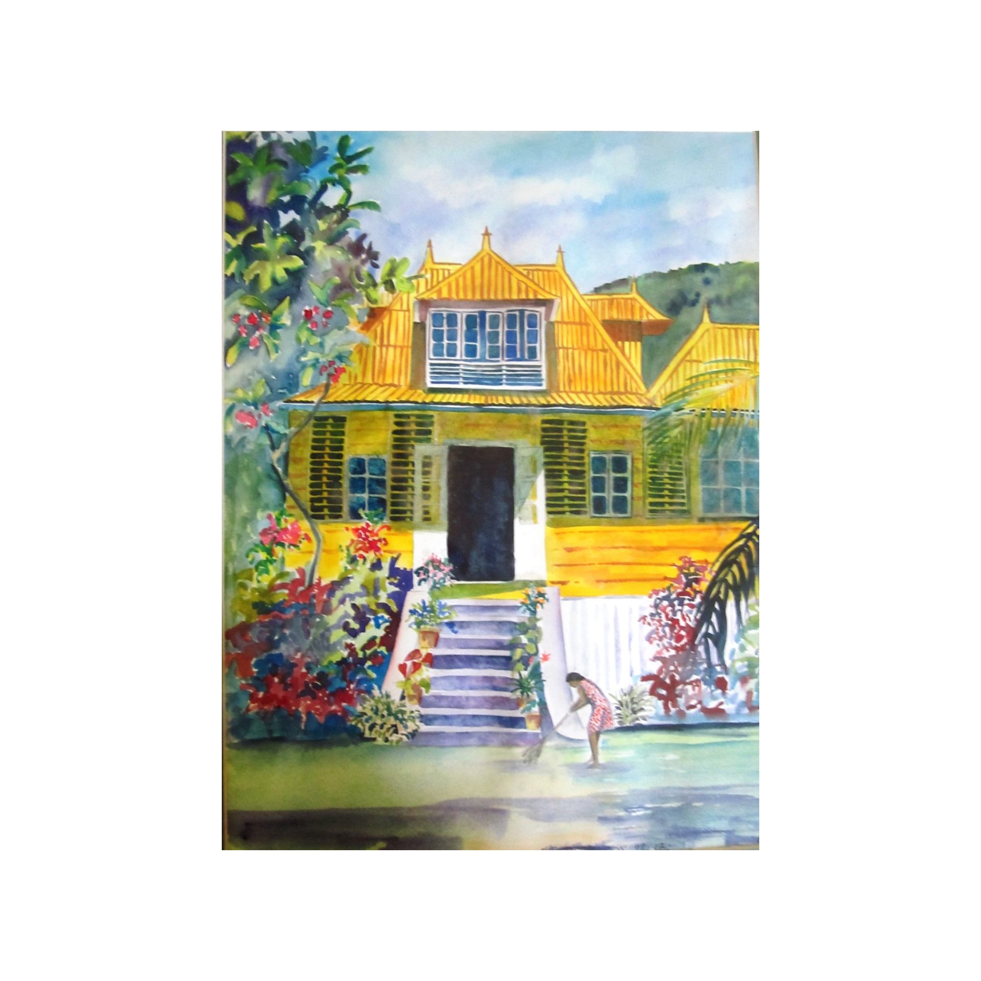 Yellow House, La Digue